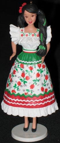 Mexican Barbie hallmark keepsake ornament