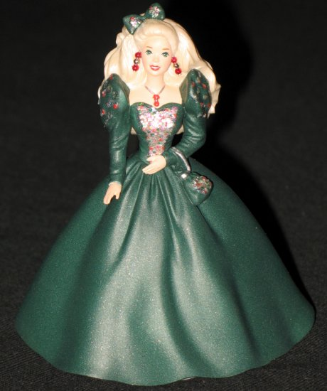 Holiday Barbie - Collector�s Club - 4th 1991 Happy Holidays Barbie
