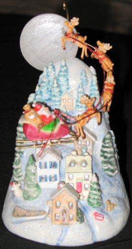 The Sleeping Village ornament
