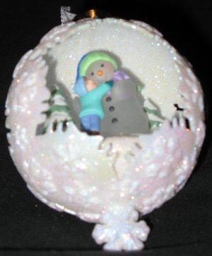 Snow Day Magic ornament