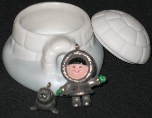 Frosty Friends ornament set