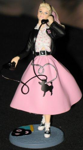 1950s Barbie Ornament hallmark keepsake