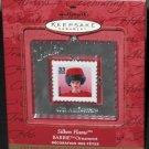Silken Flame Barbie Century Stamp Ornament