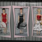 Fashion, Fun and Friendship ornament set