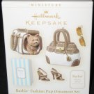 Fashion Pup Barbie Ornament Set