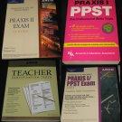 Teaching Certification book set- praxis-arco books