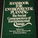 Handbook for Environmental Planning