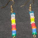 Summer Hawaiian Sparkle Dangle Earrings
