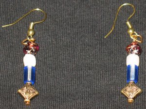 Celestial Ice yr 2012 dangle earrings