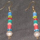 Rainbow Soul Disco dangle earrings