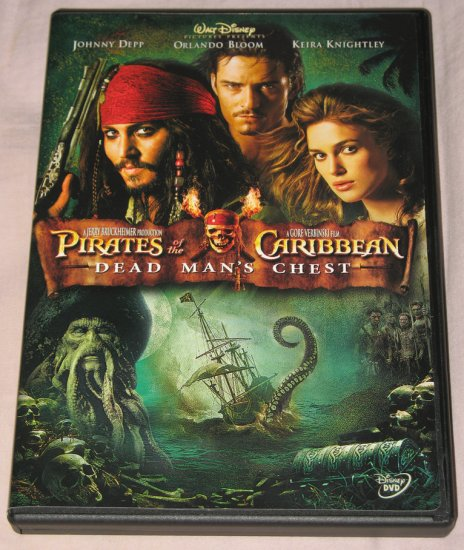 Pirates of the Caribbean: Dead Man's Chest DVD+Limited Collector's Tin