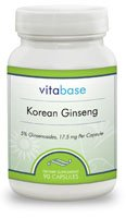 Ginseng Extract Korean- 90 Capsules