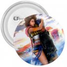 Yuna and Tidus hug--ffx/ff10- 1 in. Mini Button