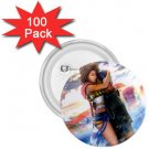 Yuna and Tidus hug--ffx/ff10-1.75 inch 100 Buttons