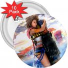 Yuna and Tidus hug--ffx/ff10--10-3 inch buttons