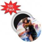 Yuna and Tidus hug--ffx/ff10-1 inch 100 Mini Magnets