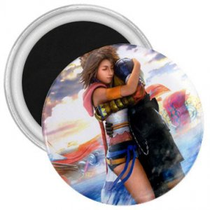 Yuna and Tidus hug--ffx/ff10-2.25 in. Magnet