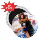 Yuna and Tidus hug--ffx/ff10-2.25 inch 10 Magnets