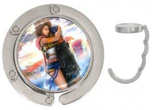Yuna and Tidus hug--ffx/ff10-2.25 inch Handbag Mirror