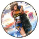 Yuna and Tidus--ffx/ff10--Golf Ball Marker Hat Clip
