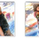 Yuna and Tidus--ffx/ff10--square cufflinks