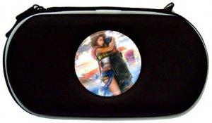 Yuna and Tidus--ffx/ff10--black PSP Case