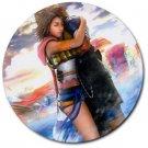Yuna-Tidus--ffx/ff10--4 round rubber coasters