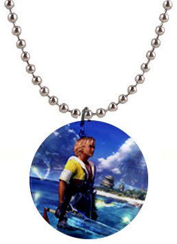 Warrior Tidus ffx/ff10--1 inch Button Necklace