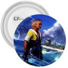 Warrior Tidus ffx/ff10--1.75 in. Button