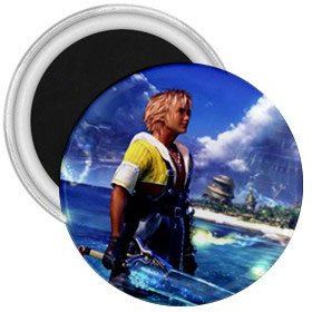 Warrior Tidus ffx/ff10--1.75 in. Magnet