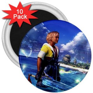 Warrior Tidus ffx/ff10--10-3 inch magnets