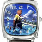 Warrior Tidus ffx/ff10--Square Metal Watch