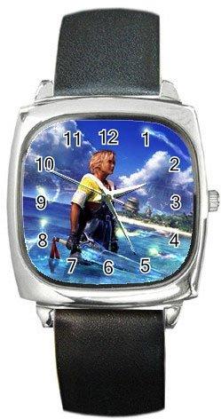 Warrior Tidus ffx/ff10--Square Metal Watch