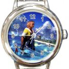 Warrior Tidus ffx/ff10--Round Italian Charm Watch
