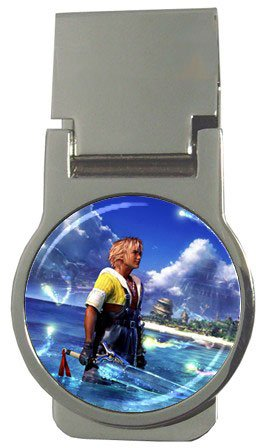 Warrior Tidus ffx/ff10--round money clip