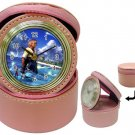 Warrior Tidus--ffx/ff10-pink Jewelry Case Clock