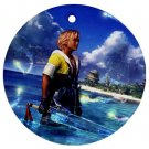 Warrior Tidus ffx/ff10--round shaped ornament