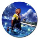 Warrior Tidus--ffx/ff10--4 round rubber coasters