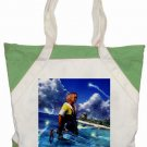 Warrior Tidus ffx/ff10-- green/white Accent Tote Bag