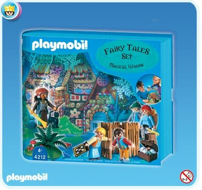 Playmobil Fairy Tale Hansel & Gretel Set NEW 4212