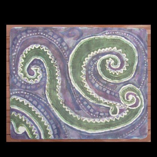 Mola II Floor Cloth or Table Topper