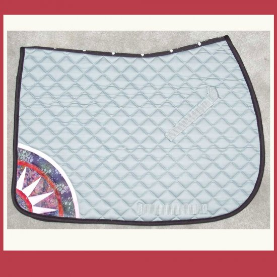 Mariners Compass All Purpose Saddle Pad 706