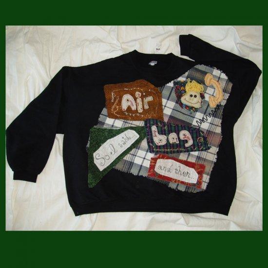 Air Bag Primitive Sweatshirt XXL 626