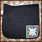 Blazing Star Black Saddle Pad 844