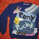 Pony Pucky Sweatshirt  child XL fits small adult 629