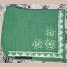 Green Batik Dressage Pad 820