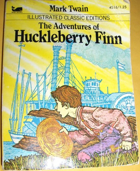 The Adventures of Huckelberry Finn ~ Vintage Book