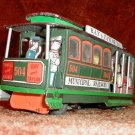 municipal railway tin frictin trolly