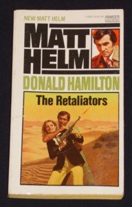 Donald Hamilton ~ THE RETALIATORS ~ 1976 Matt Helm 1st Ed Pb