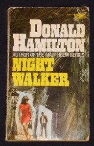 Donald Hamilton ~ NIGHT WALKER Vintage Pb Fawcett T2680